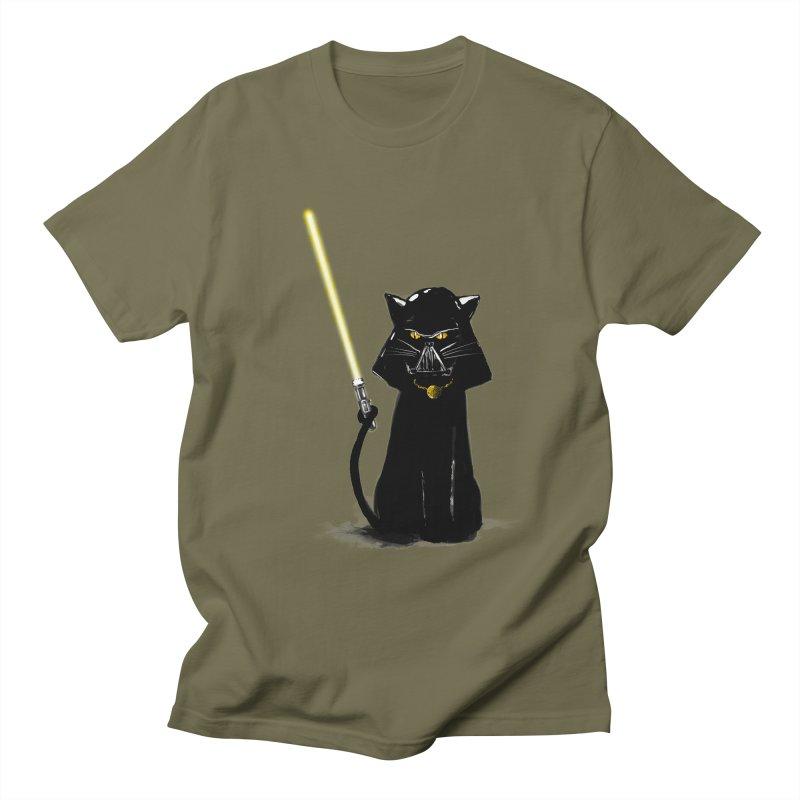 cat vador Men's T-Shirt by kharmazero's Artist Shop