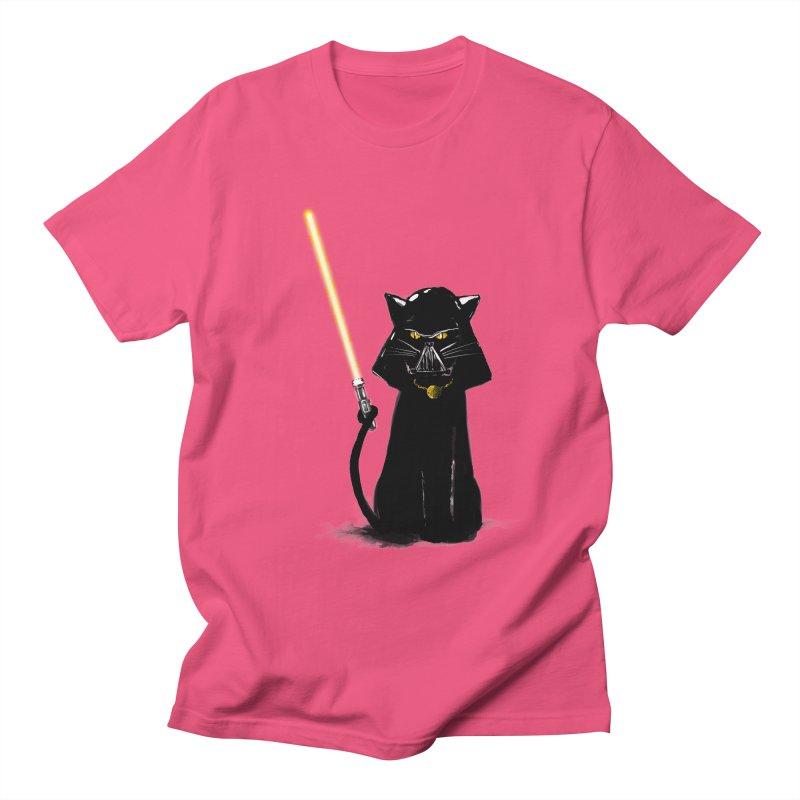 cat vador Women's Regular Unisex T-Shirt by kharmazero's Artist Shop
