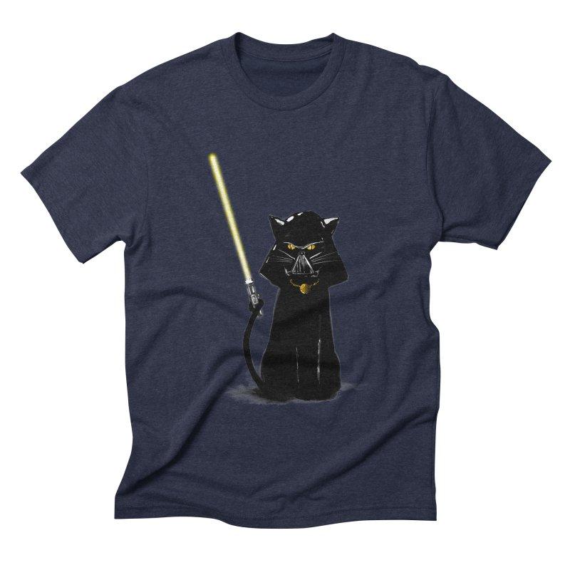 cat vador Men's Triblend T-Shirt by kharmazero's Artist Shop
