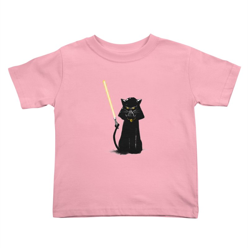 cat vador Kids Toddler T-Shirt by kharmazero's Artist Shop