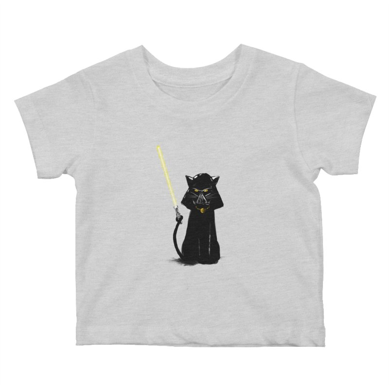 cat vador Kids Baby T-Shirt by kharmazero's Artist Shop