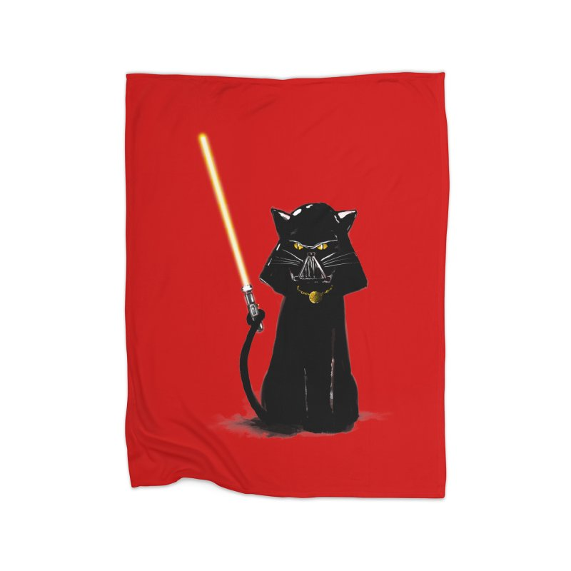 cat vador Home Blanket by kharmazero's Artist Shop