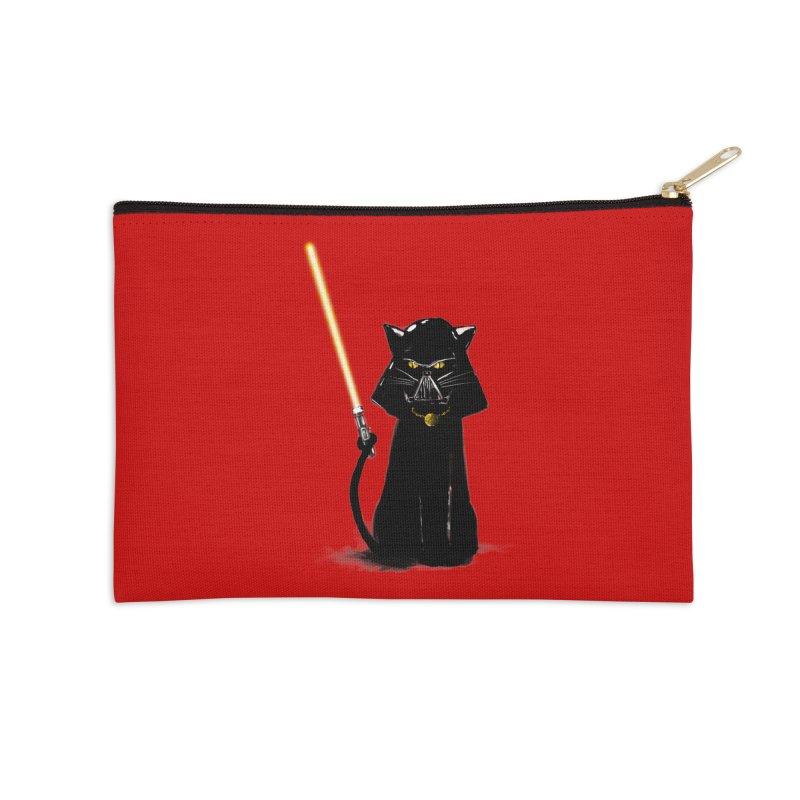 cat vador Accessories Zip Pouch by kharmazero's Artist Shop