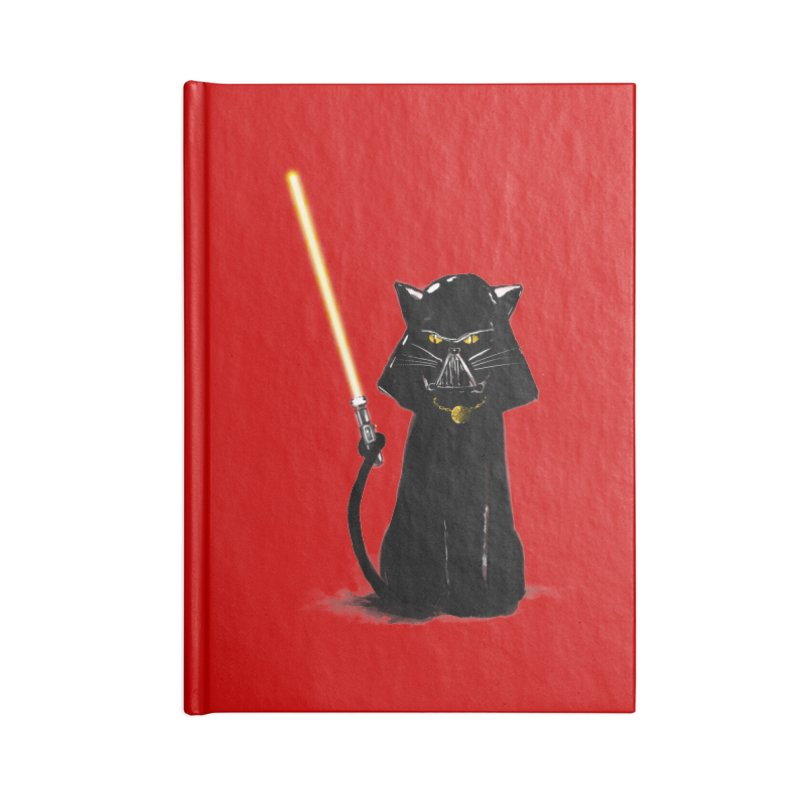 cat vador Accessories Notebook by kharmazero's Artist Shop