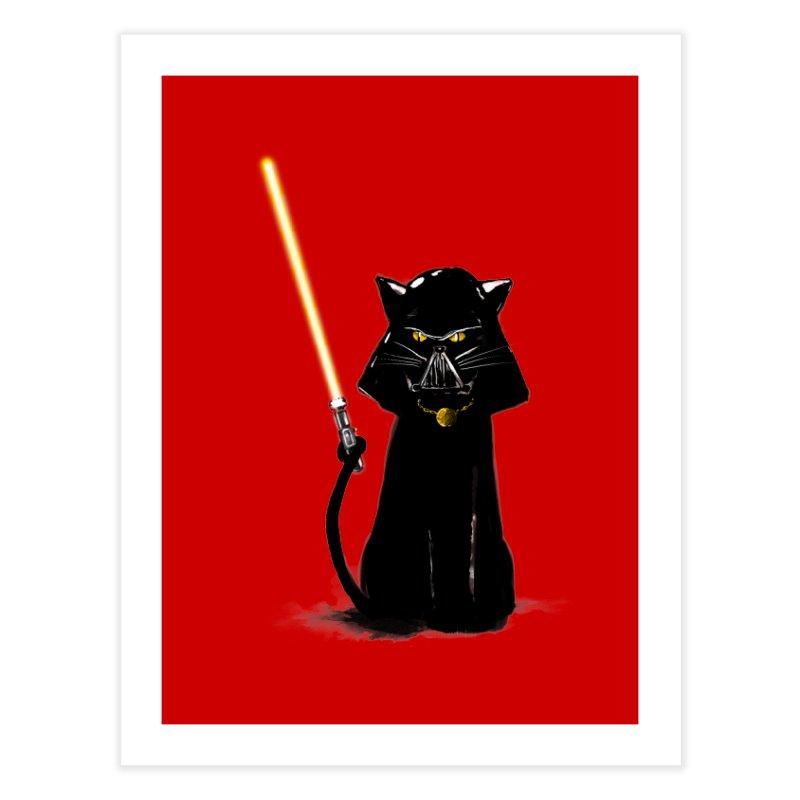 cat vador Home Fine Art Print by kharmazero's Artist Shop