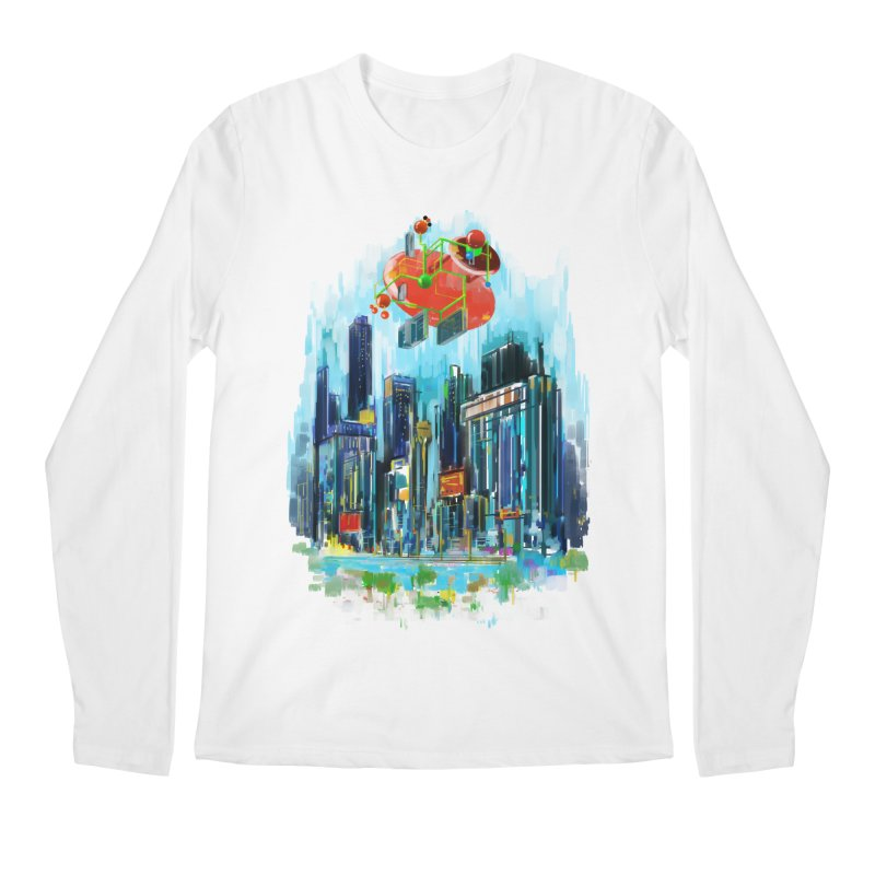 strange structure 1 Men's Longsleeve T-Shirt by kharmazero's Artist Shop