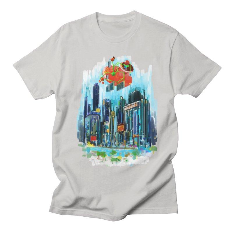 strange structure 1 Men's T-Shirt by kharmazero's Artist Shop