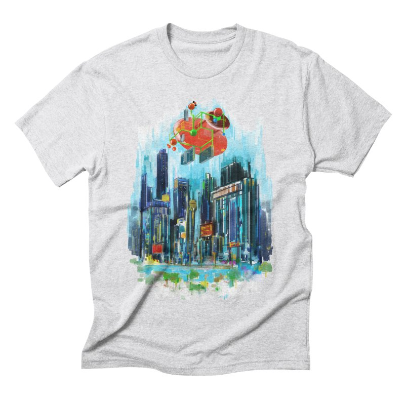 strange structure 1 Men's Triblend T-Shirt by kharmazero's Artist Shop