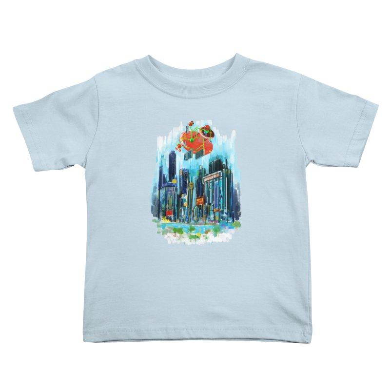 strange structure 1 Kids Toddler T-Shirt by kharmazero's Artist Shop