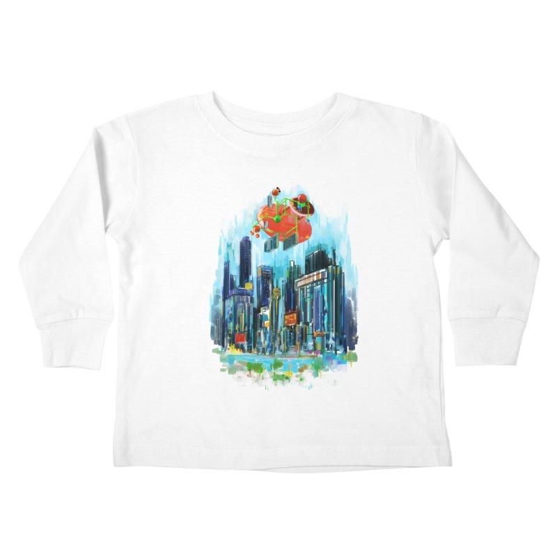 strange structure 1 Kids Toddler Longsleeve T-Shirt by kharmazero's Artist Shop