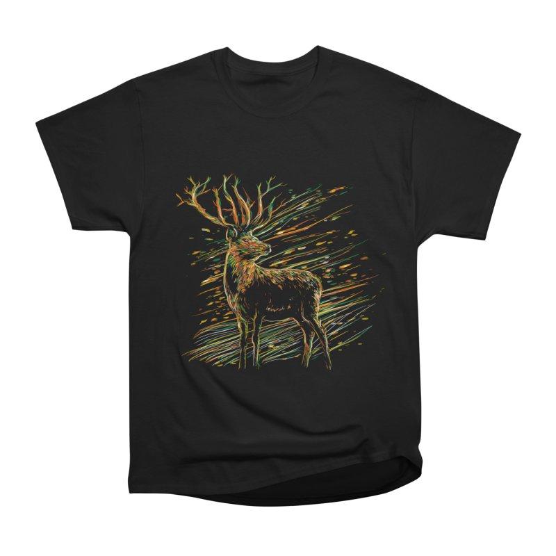 autumn wind Men's Heavyweight T-Shirt by kharmazero's Artist Shop