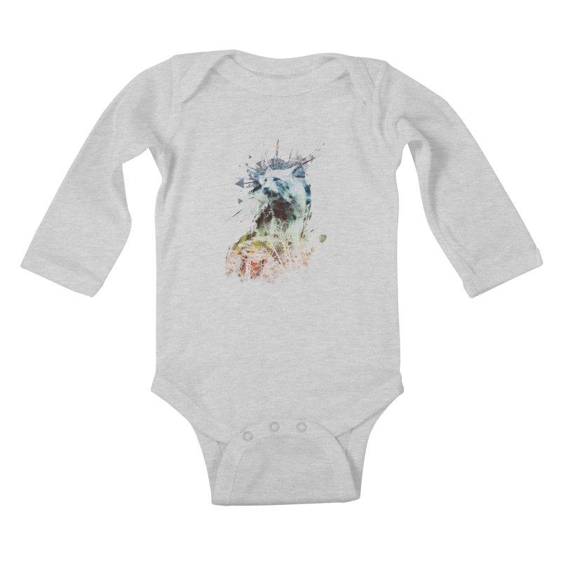 predation instinct Kids Baby Longsleeve Bodysuit by kharmazero's Artist Shop