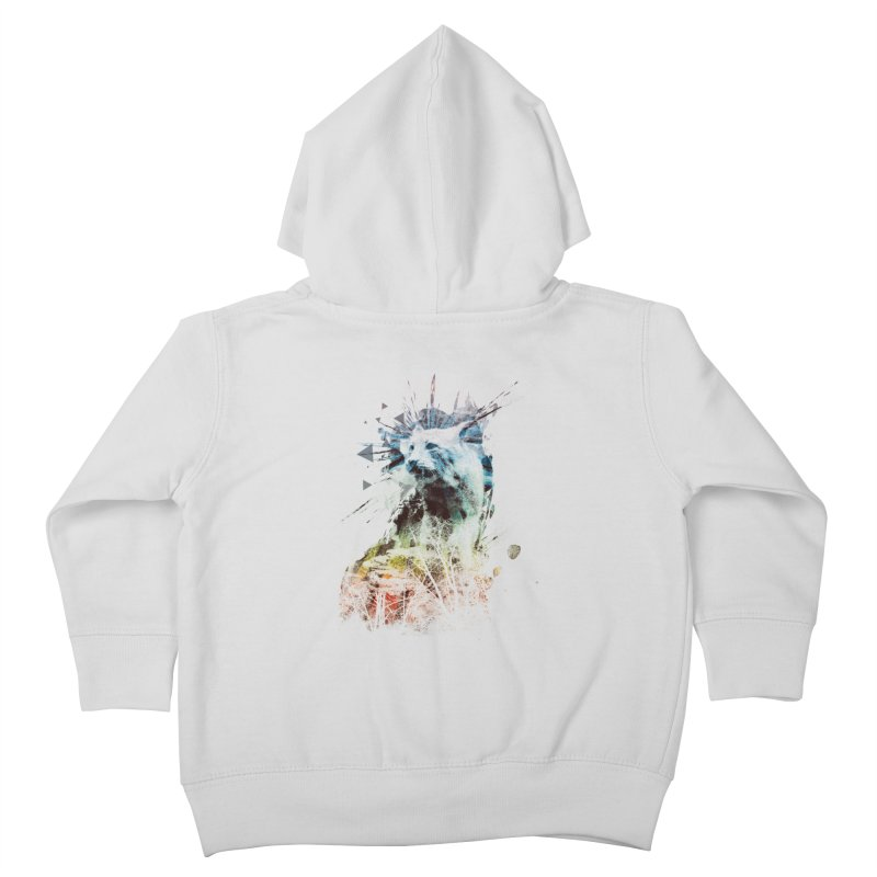 predation instinct Kids Toddler Zip-Up Hoody by kharmazero's Artist Shop