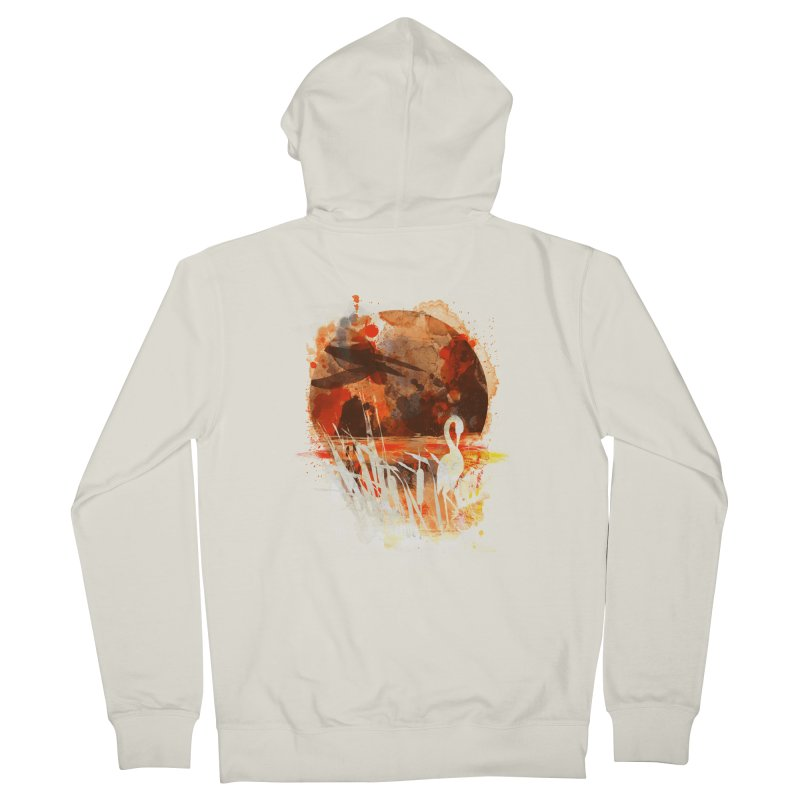picture from the floatting world Men's Zip-Up Hoody by kharmazero's Artist Shop