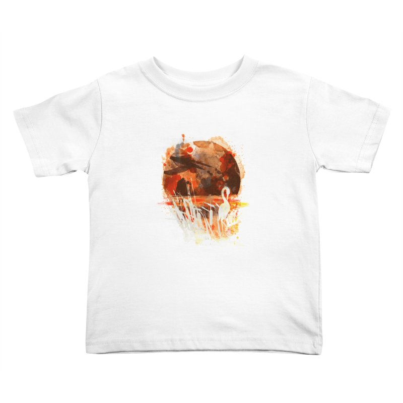 picture from the floatting world Kids Toddler T-Shirt by kharmazero's Artist Shop