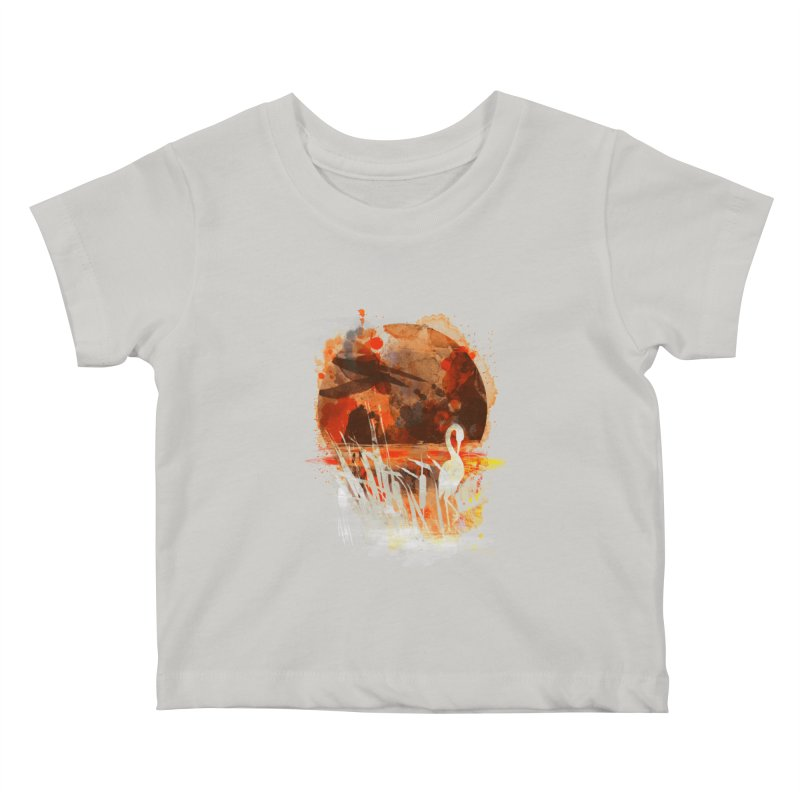 picture from the floatting world Kids Baby T-Shirt by kharmazero's Artist Shop
