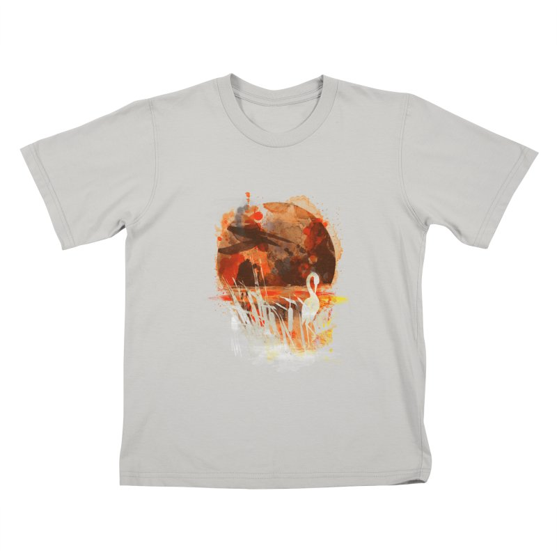 picture from the floatting world Kids T-shirt by kharmazero's Artist Shop