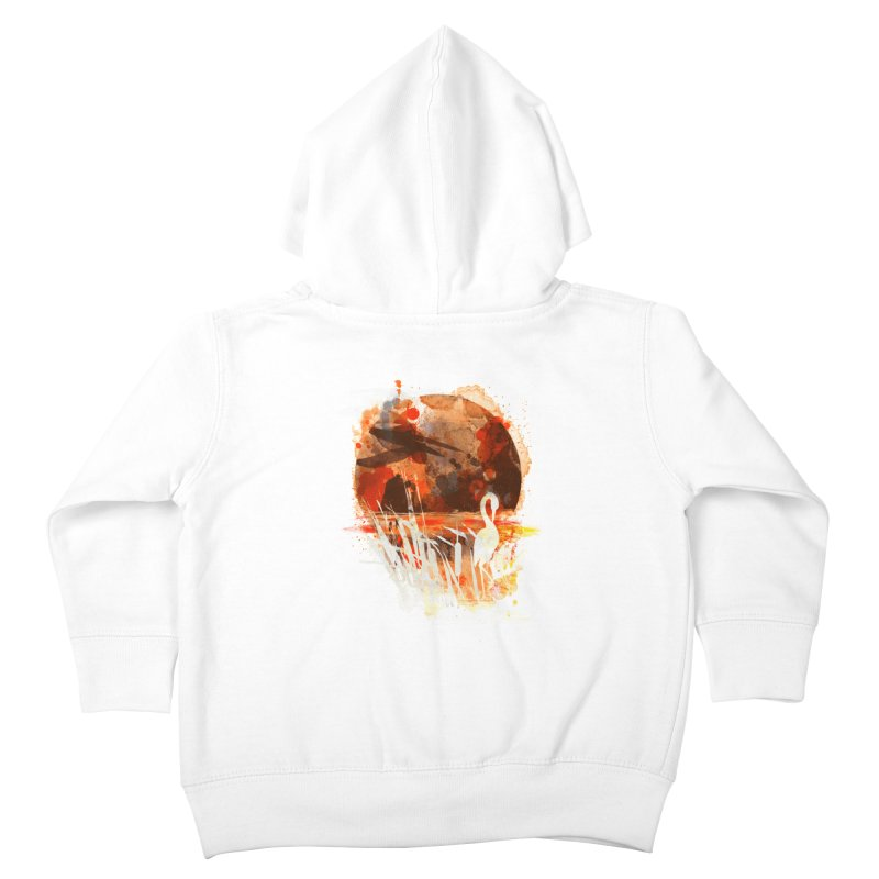 picture from the floatting world Kids Toddler Zip-Up Hoody by kharmazero's Artist Shop