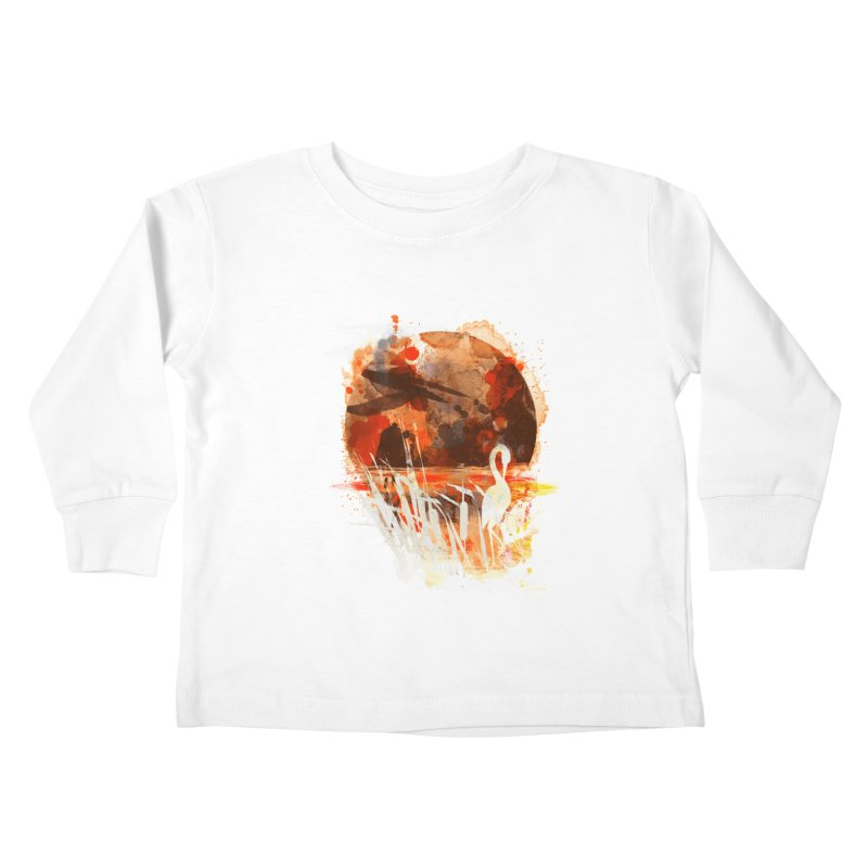 picture from the floatting world Kids Toddler Longsleeve T-Shirt by kharmazero's Artist Shop