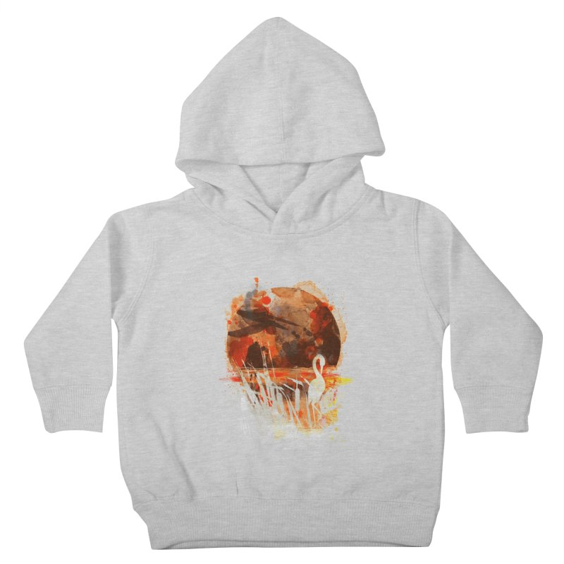 picture from the floatting world Kids Toddler Pullover Hoody by kharmazero's Artist Shop