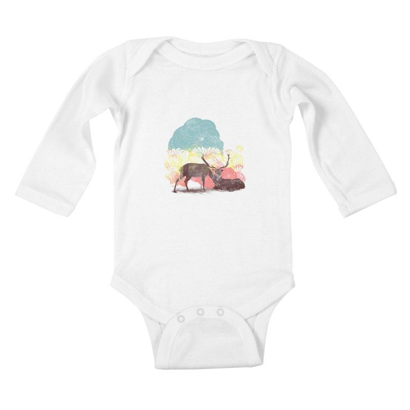 tenderness Kids Baby Longsleeve Bodysuit by kharmazero's Artist Shop
