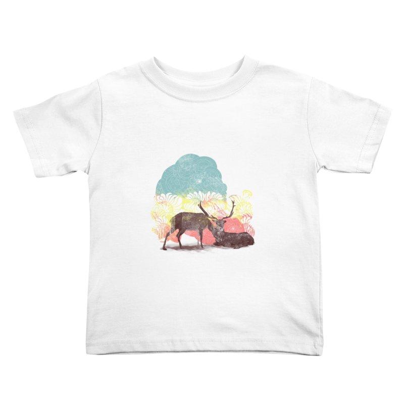 tenderness Kids Toddler T-Shirt by kharmazero's Artist Shop
