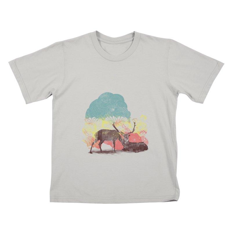 tenderness Kids T-shirt by kharmazero's Artist Shop