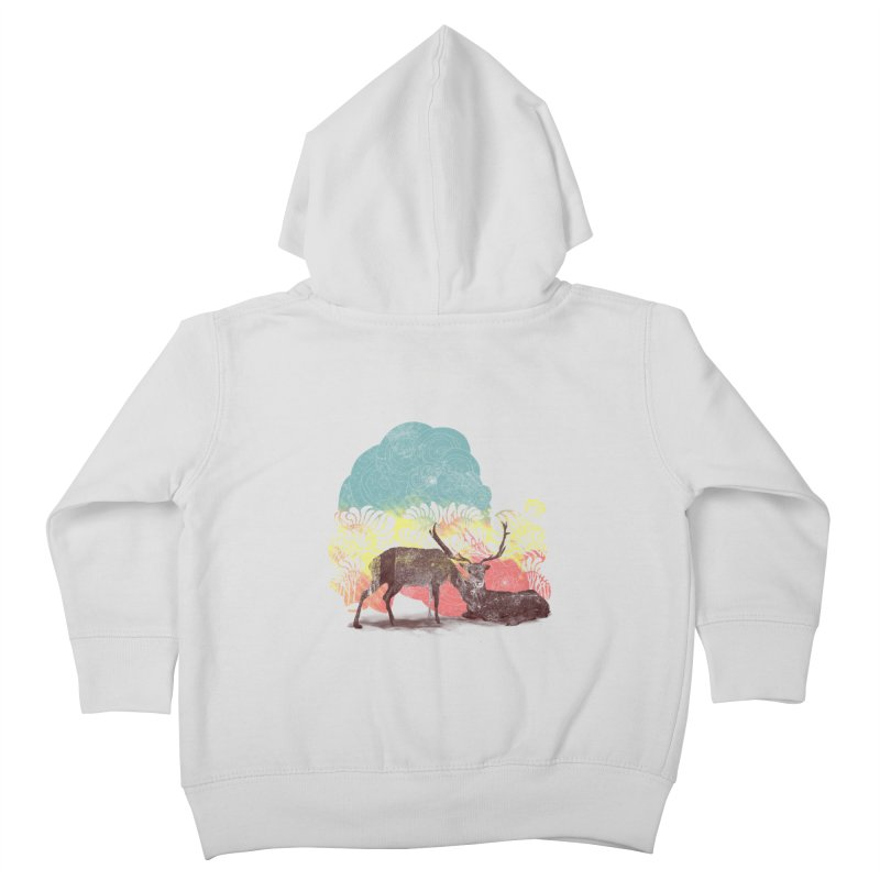 tenderness Kids Toddler Zip-Up Hoody by kharmazero's Artist Shop