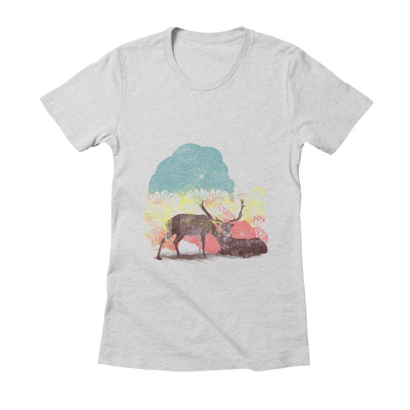 tenderness Women's Fitted T-Shirt by kharmazero's Artist Shop