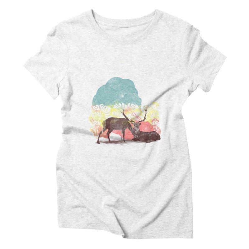 tenderness Women's Triblend T-shirt by kharmazero's Artist Shop