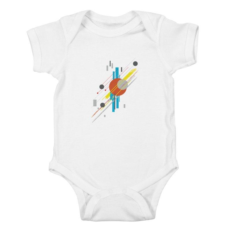 transversali-tee Kids Baby Bodysuit by kharmazero's Artist Shop