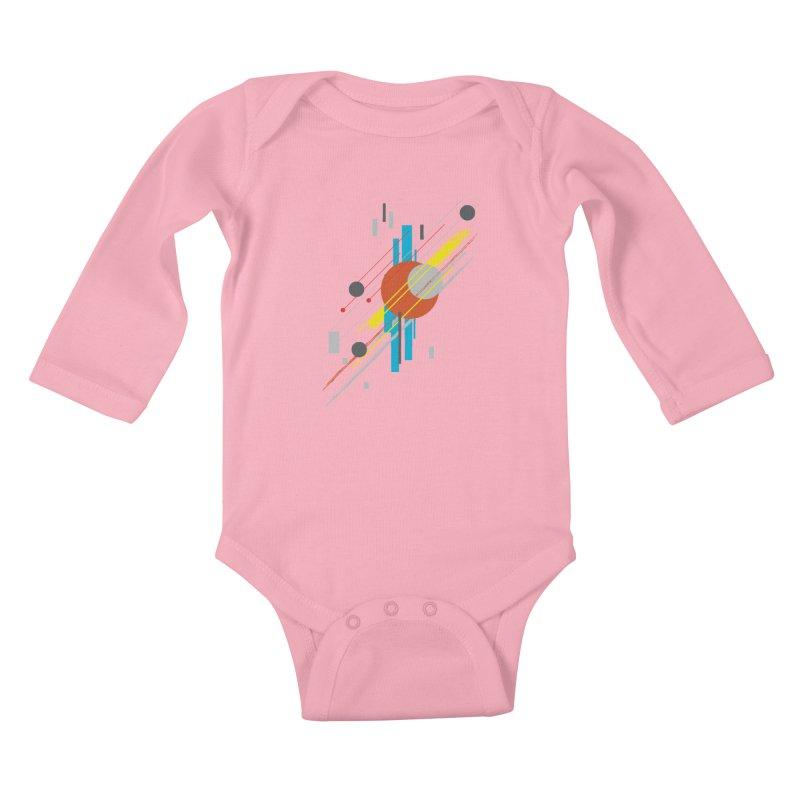 transversali-tee Kids Baby Longsleeve Bodysuit by kharmazero's Artist Shop