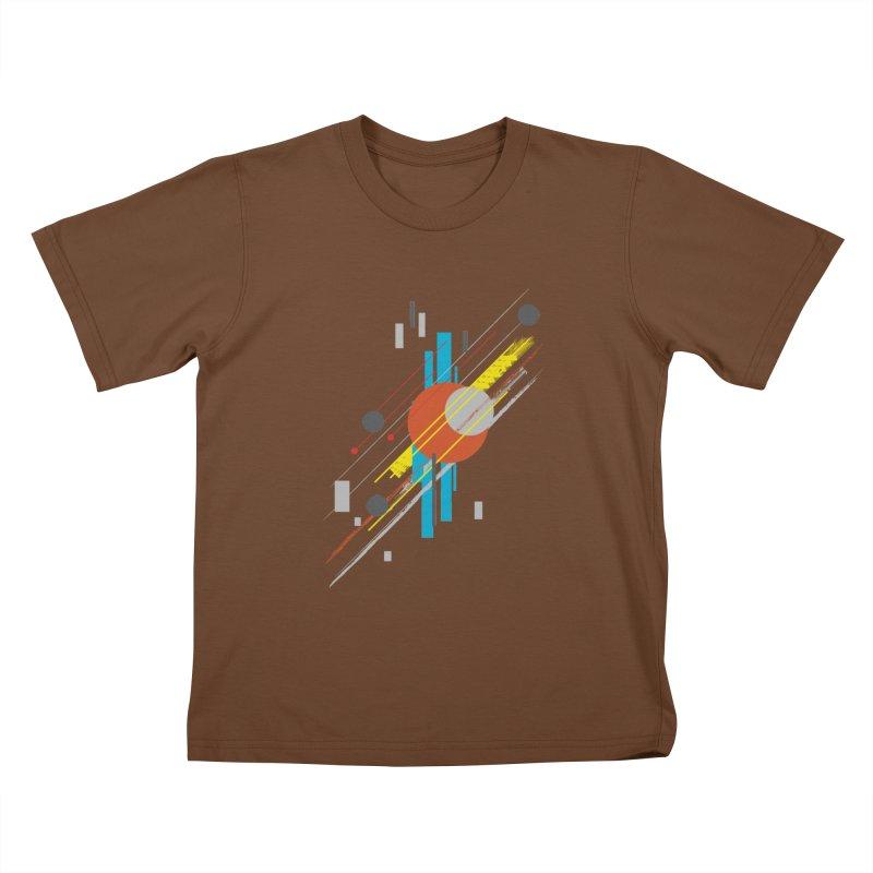 transversali-tee Kids T-shirt by kharmazero's Artist Shop