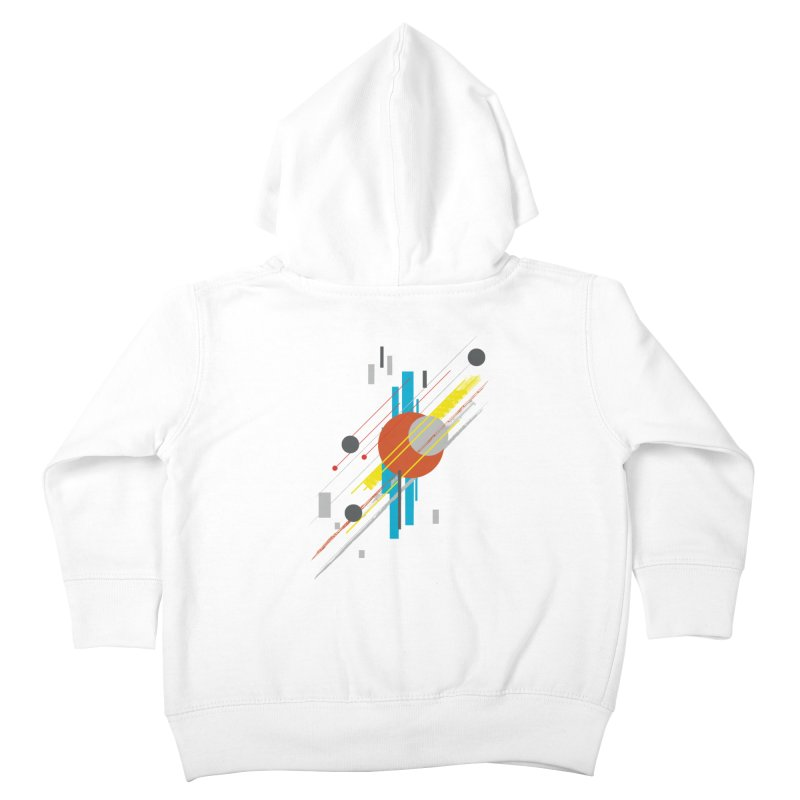 transversali-tee Kids Toddler Zip-Up Hoody by kharmazero's Artist Shop