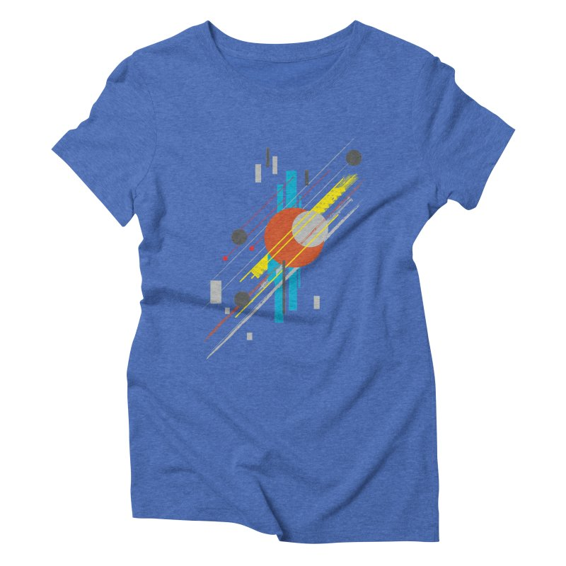 transversali-tee Women's Triblend T-shirt by kharmazero's Artist Shop