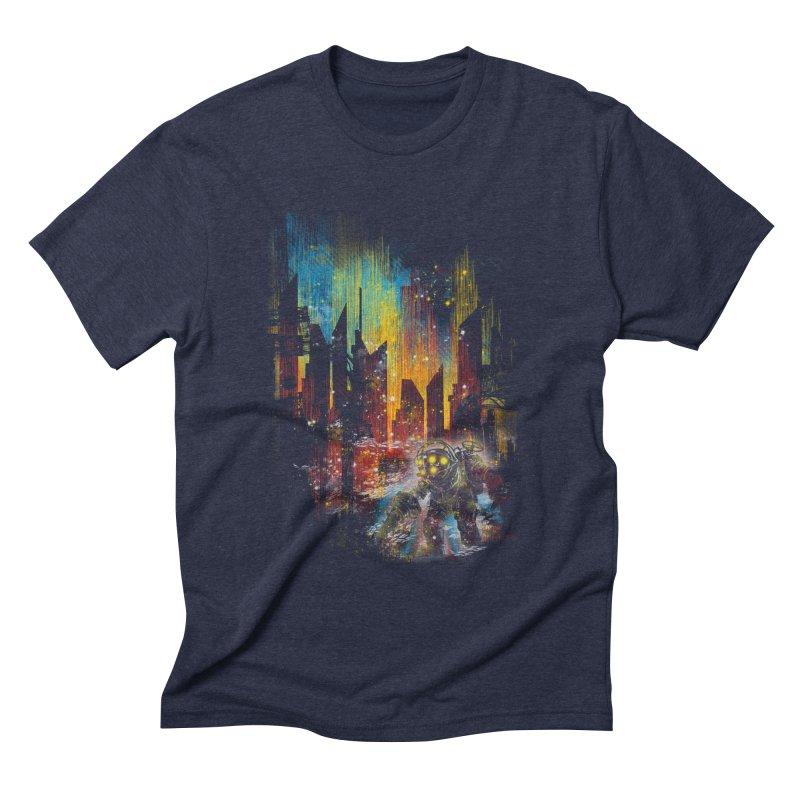 leaving rapture Men's Triblend T-shirt by kharmazero's Artist Shop
