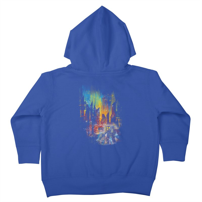 leaving rapture Kids Toddler Zip-Up Hoody by kharmazero's Artist Shop