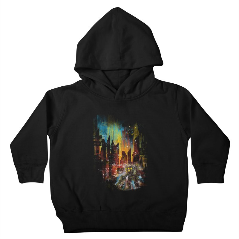 leaving rapture Kids Toddler Pullover Hoody by kharmazero's Artist Shop