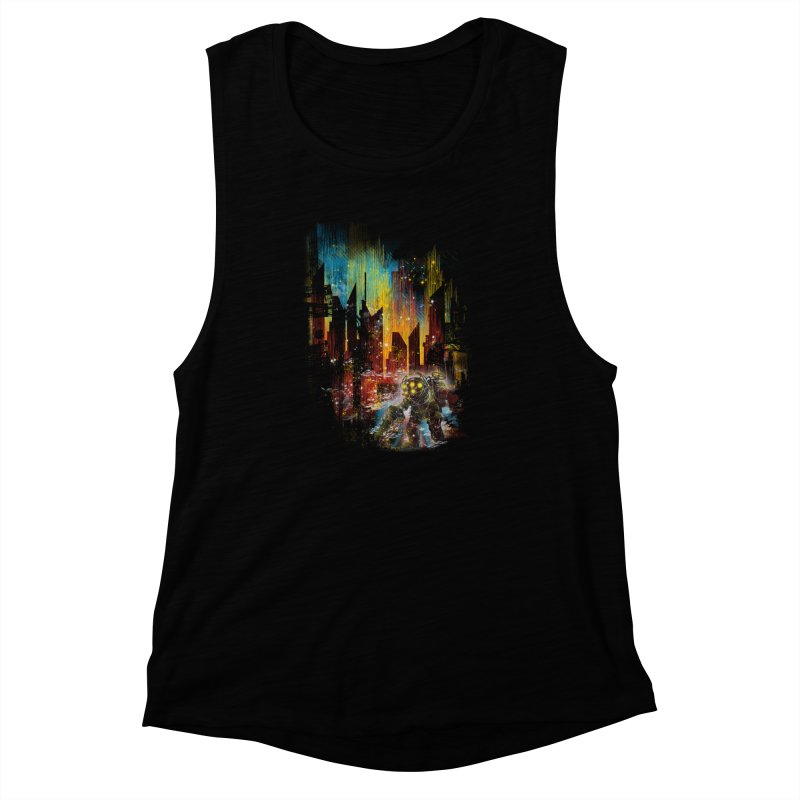 leaving rapture Women's Muscle Tank by kharmazero's Artist Shop