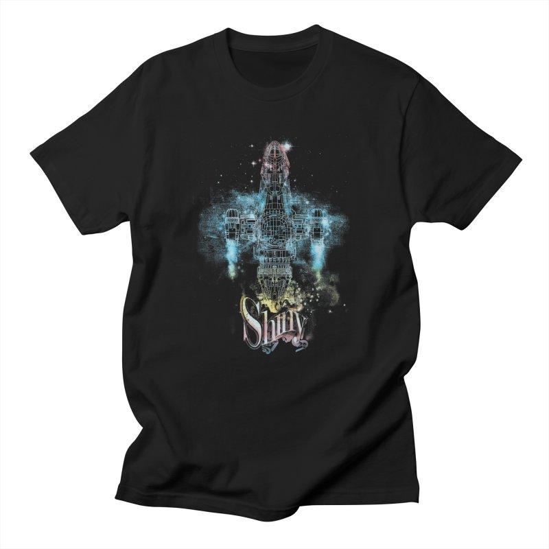 the shiniest space ship Men's T-shirt by kharmazero's Artist Shop