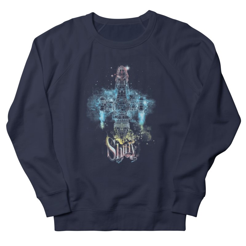 the shiniest space ship Men's Sweatshirt by kharmazero's Artist Shop