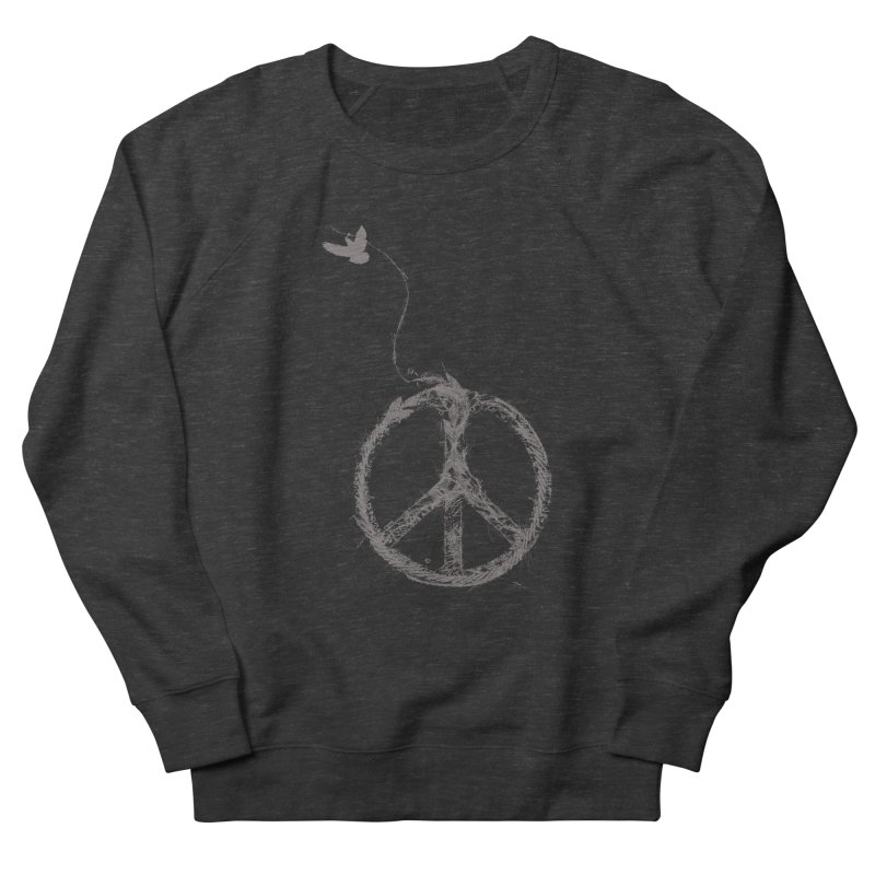 sewing peace Men's Sweatshirt by kharmazero's Artist Shop