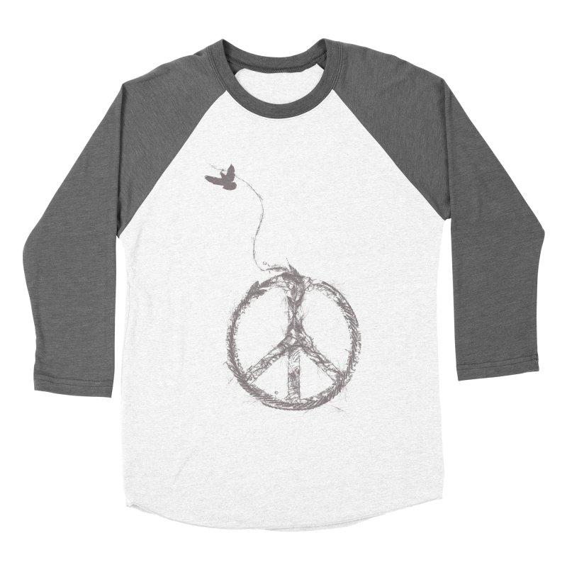 sewing peace Men's Baseball Triblend T-Shirt by kharmazero's Artist Shop