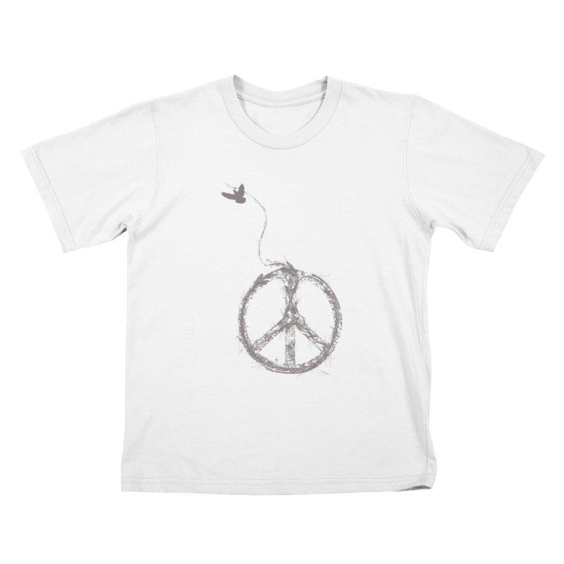 sewing peace Kids T-shirt by kharmazero's Artist Shop