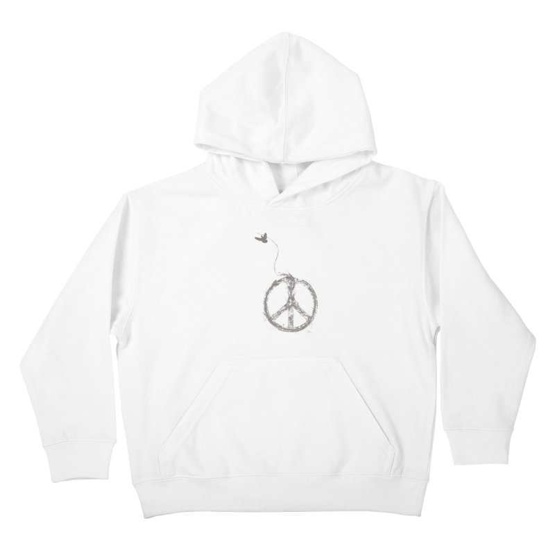 sewing peace Kids Pullover Hoody by kharmazero's Artist Shop