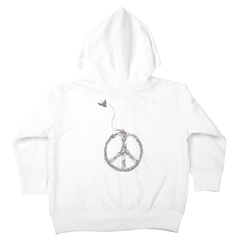 sewing peace Kids Toddler Zip-Up Hoody by kharmazero's Artist Shop