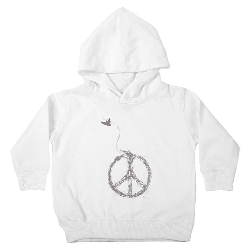 sewing peace Kids Toddler Pullover Hoody by kharmazero's Artist Shop