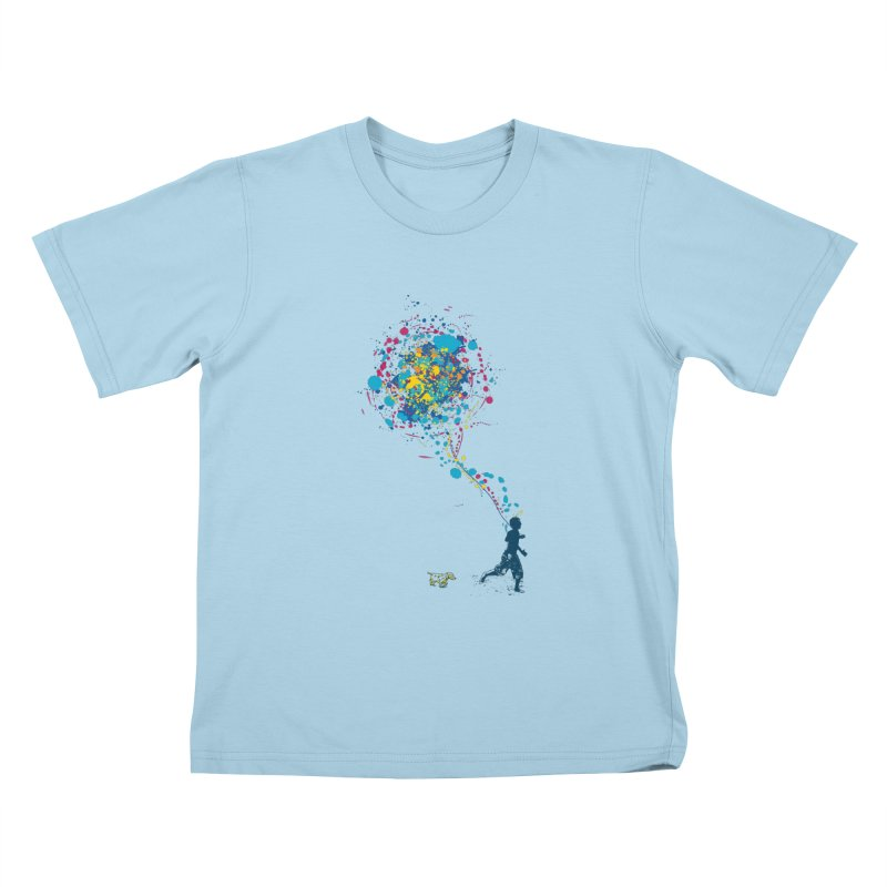 child creation chronicle Kids T-shirt by kharmazero's Artist Shop