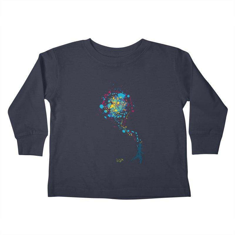 child creation chronicle Kids Toddler Longsleeve T-Shirt by kharmazero's Artist Shop