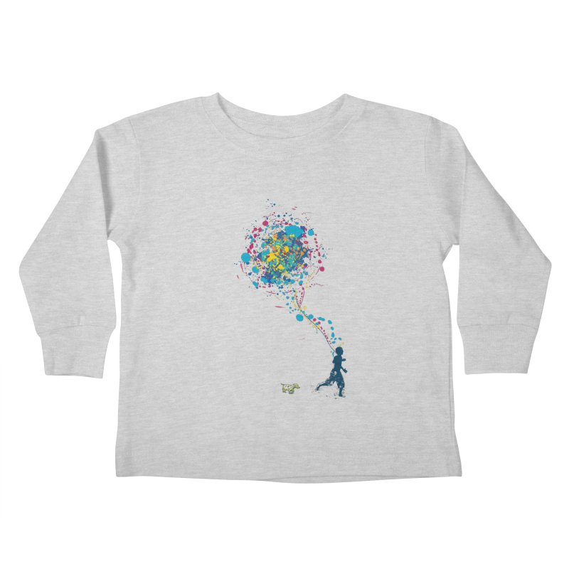 child creation chronicle Kids Toddler Longsleeve T-Shirt by kharmazero's Artist Shop